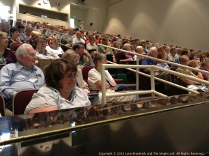 Wednesday's opening session of the BYU Family History and Genealogy Conference