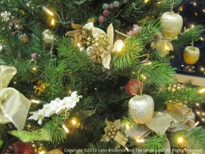 Lynn Broderick and the Single Leaf-Christmas foliage WP