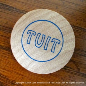 "A round ""Tuit"" to help you get around to your genealogy and family history!"