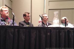 Dr. Spencer Wells, Kenny Freestone, Dr. Tim Janzen, and Benett Greenspan