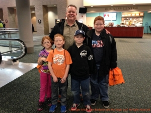 I ran into this family on their way to see Studio C. They were so excited!