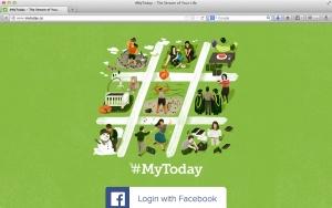 Find #MyToday at mytoday.co.