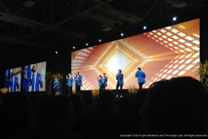 Vocal Point at RootsTech 2014 Opening Social