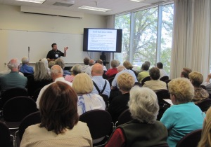 Ugo Perego discussed the uses of DNA in genealogy as part of the DNA track.