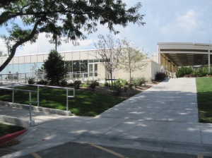 The upper level entrance is located off 1550 North 900 East in Lot 23A, southeast of the BYU Conference Center.